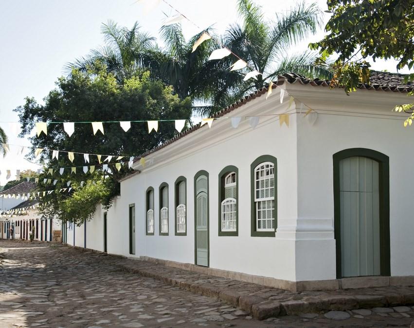 LOC CH 09 – Casa aluguel temporada em Paraty no Centro Histórico